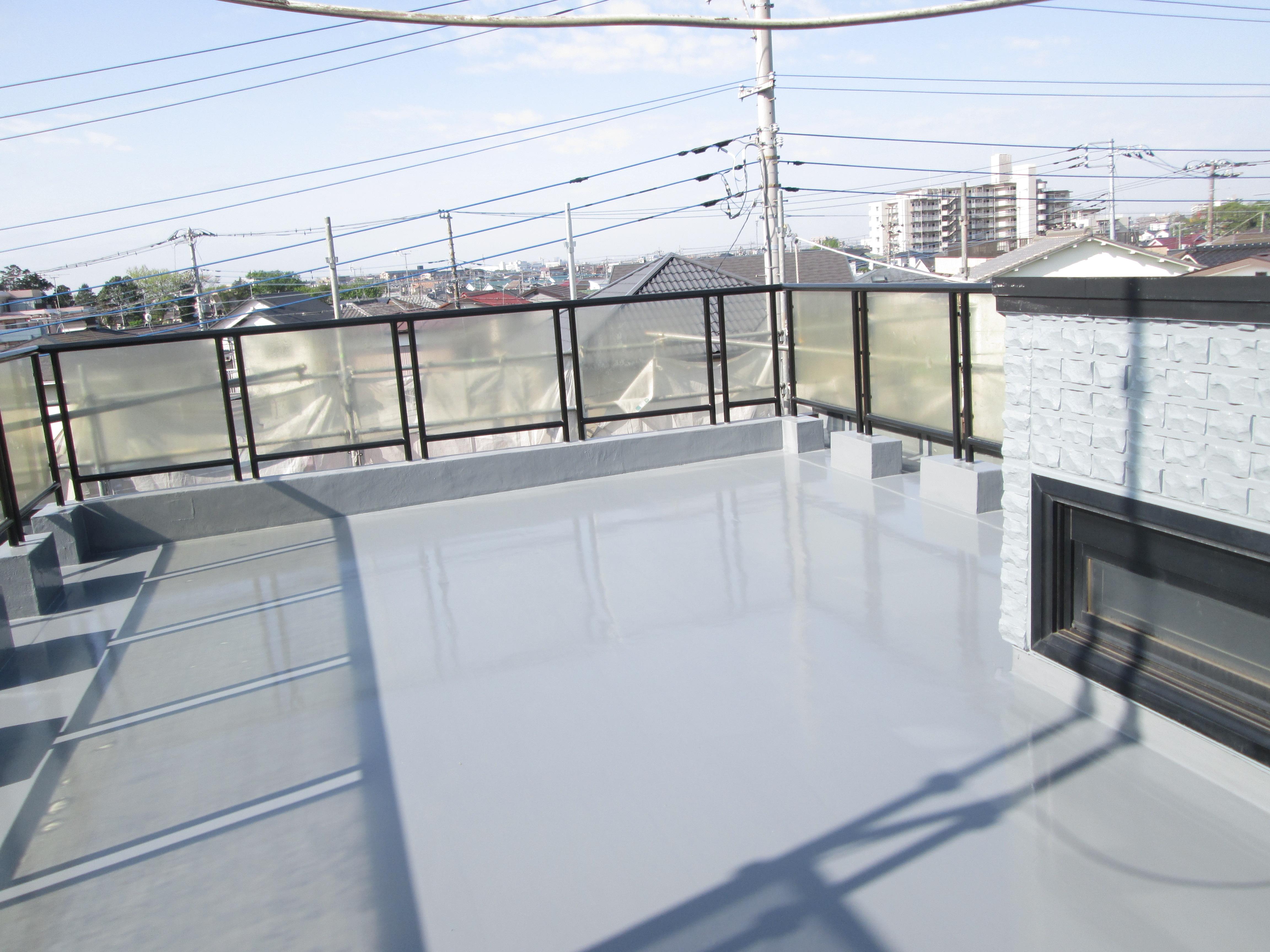 松戸市防水塗装